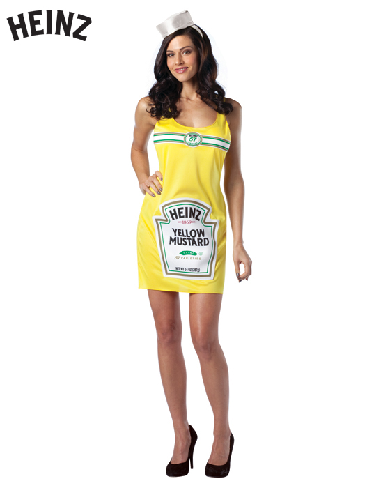Adult Heinz Mustard Dress