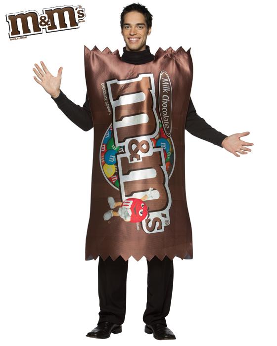 Adult Plain M&M Costume