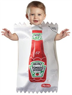 Baby Heinz Ketchup Package Bunting