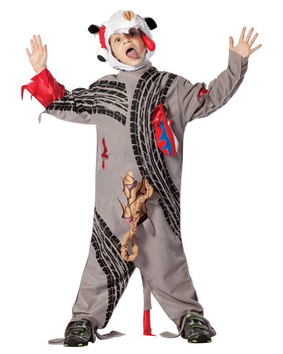 Child Road Kill Costume