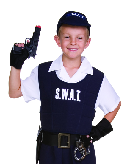 Child SWAT Team Dress Up Kit