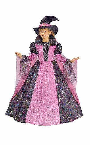 Child Elegant Witch Costume