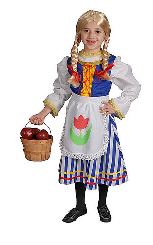 Deluxe Dutch Girl Costume