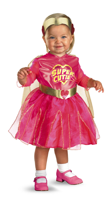 Baby Toddler Super Cutie Costume