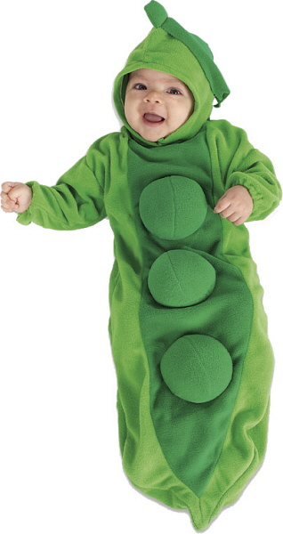 Baby Pea in the Pod Bunting Costume