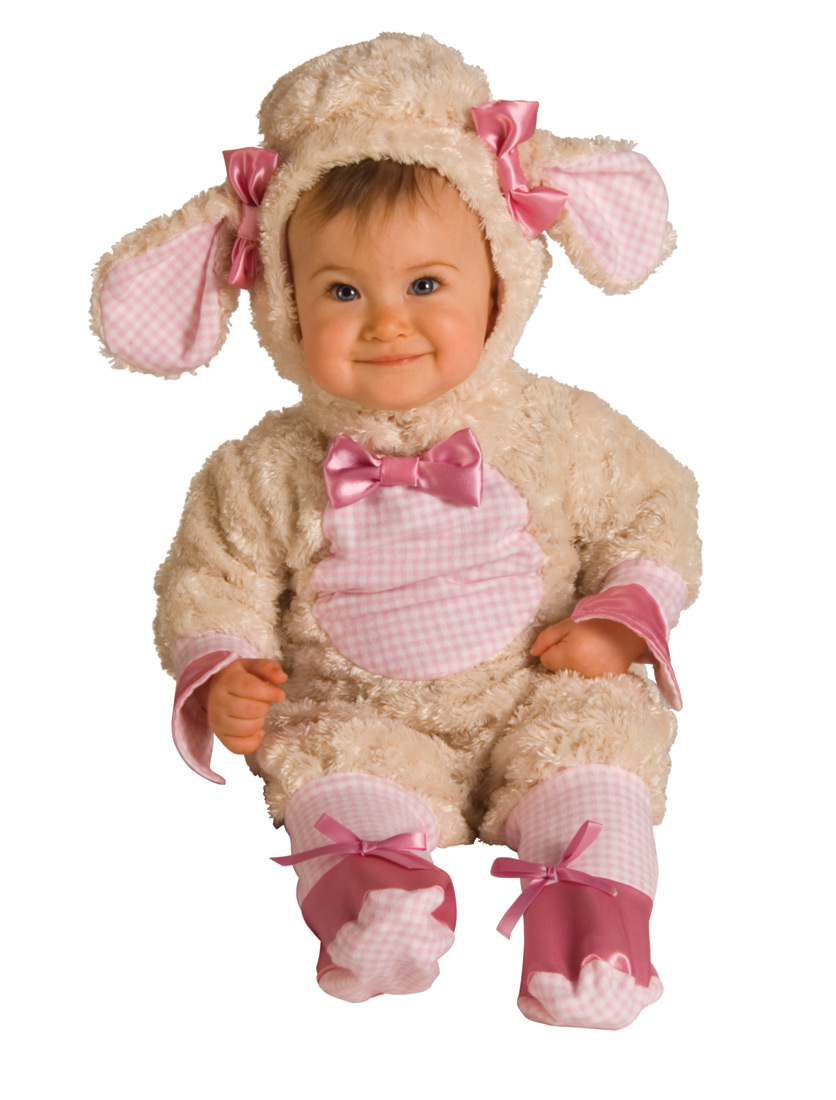Pink Baby Lamb Costume