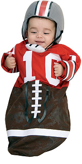 Newborn Football Bunting