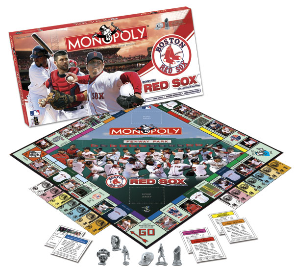 Boston Red Sox Monopoly Board Game