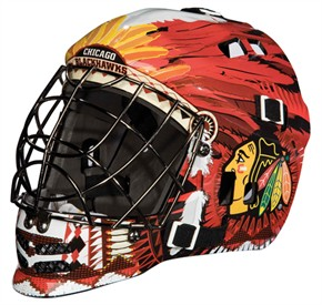 Franklin Street Hockey Junior NHL Goalie Mask - Chicago Blackhawks