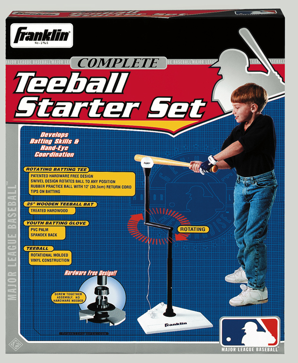 Franklin MLB Complete Tee Ball Set