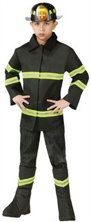 Child Fire Chief Costume