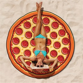 Giant Pizza Beach Blanket