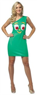 Gumby Costume Tank Dress