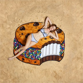 Ice Cream Sandwich Beach Blanket
