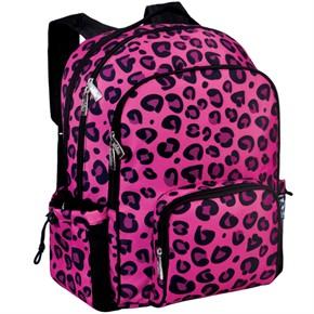 Kids Backpacks, Pink Leopard Kids Book Bag