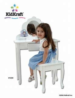 Kidkraft Medium Diva Child Vanity & Stool