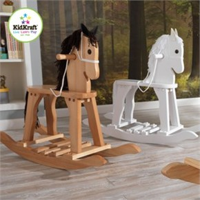 KidKraft Derby Child Rocking Horse - Natural