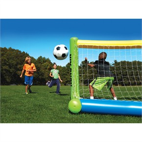 Kong-Air Inflatable Soccer Goal and Ball Set