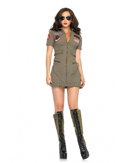 Leg Avenue Sexy Top Gun Costume