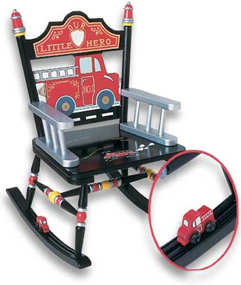 Fire Engine Rocker