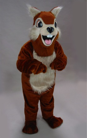 """Chippy"" Chipmunk Mascot Costume"