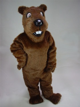 Gopher/Groundhog Mascot Costume