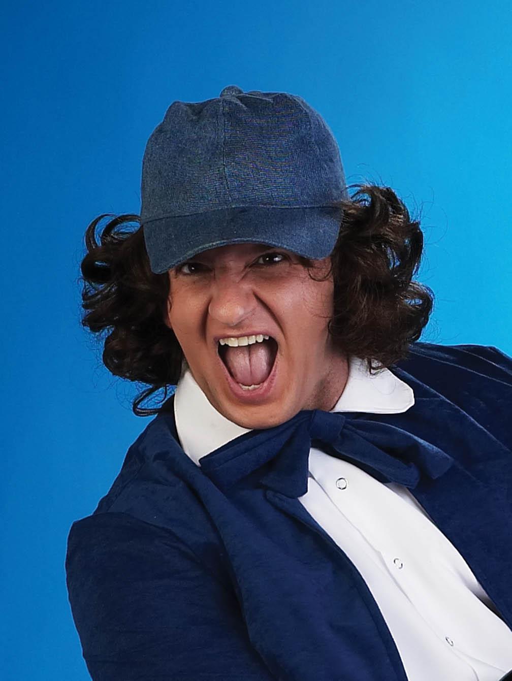 Schoolboy Rocker Wig