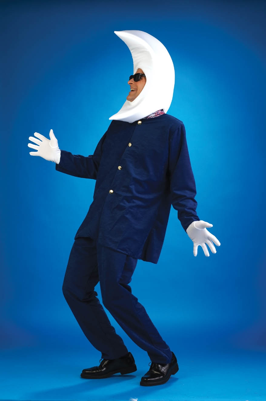 Adult Man in the Moon Costume