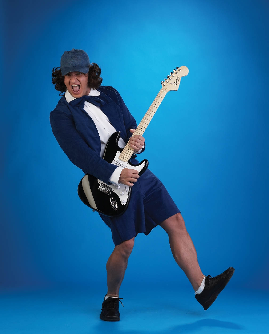 Adult Schoolboy Rocker Costume