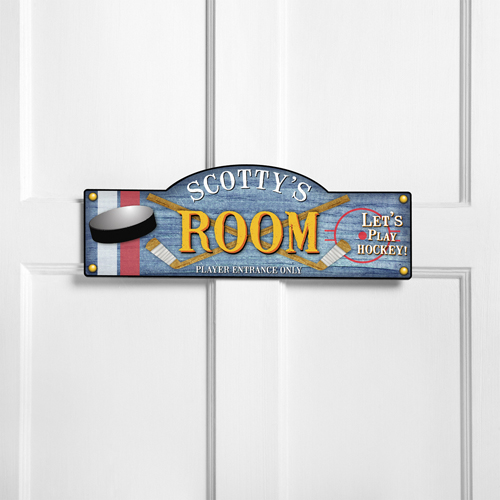 Personalized kids room sign power play personalized room for Kids room signs
