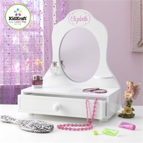 Kidkraft Personalized Tabletop Vanity