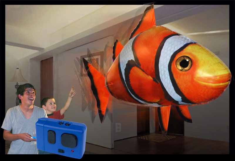 Remote Control Flying Clownfish
