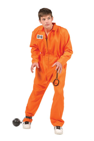 Teen Escaped Convict Costume