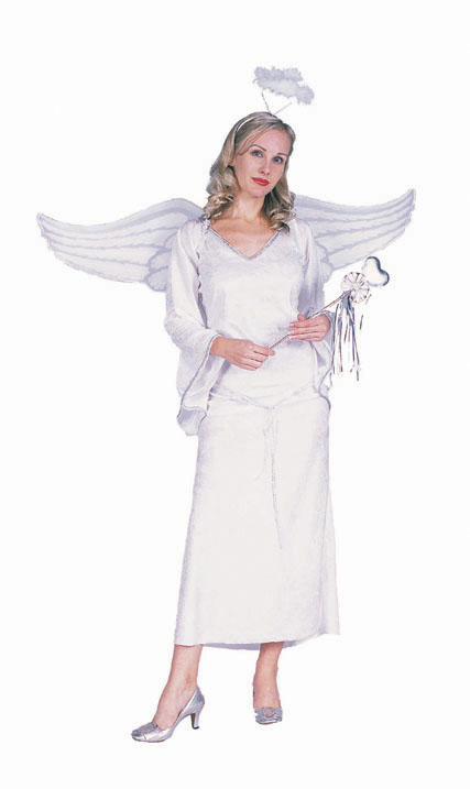 Adult Woman's White Angel Costume