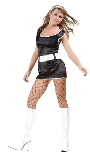 Adult Sexy Go Go Girl Costume