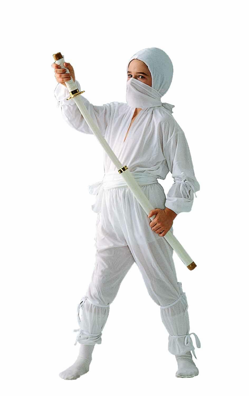 Костюм ниндзя белый своими руками