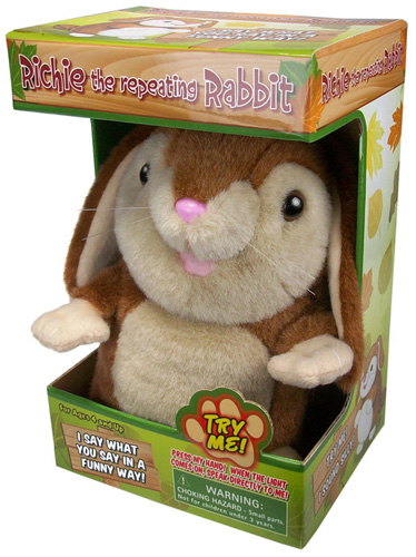 Richie the Repeating Rabbit - Talking Rabbit