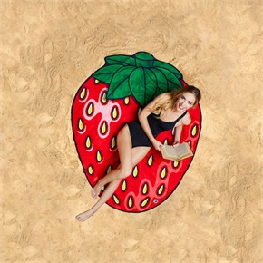 Strawberry Beach Blanket