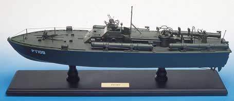 WWII Elco 80' PT-109 Torpedo Boat Model
