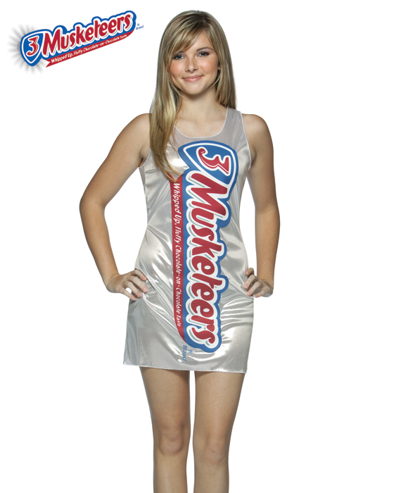 Teen 3 Musketeers Costume Dress
