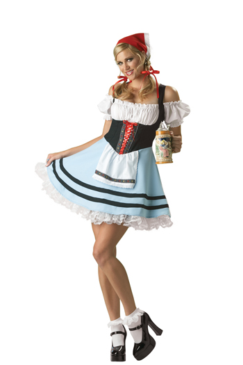 Women's Oktoberfest Costume